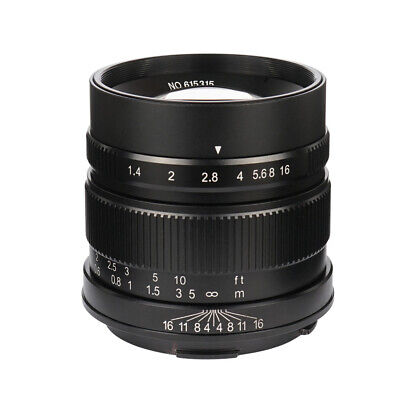 7artisans 55mm/F1.4 Large Aperture APS-C Manual Fixed Lens for leica-T TL TL2 CL