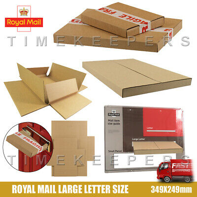 20 X A4 Taille Max Royal Mail Lettre Large Carton Postal Pip Boîtes
