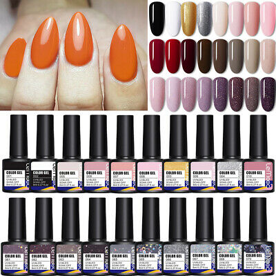 8ml LEMOOC Nagel Gellack Gel UV Nagellack Soak off Maniküre Nail UV Gel Polish