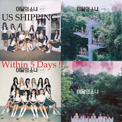 US SHIPPING Monthly Girl-[++] Lead Debut Normal Random CD+PhotoBook+Card