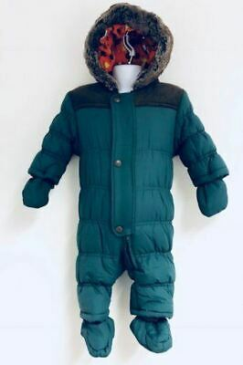 Just Character Exchainstore Quilted Snowsuit With Fur Trim Edges Around The Hood