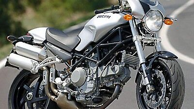 Manuale Officina Ducati Monster S2R 1000(2006),foto A Colori+ Regali In Pdf