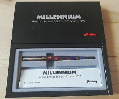 Rotring Art Pen Füllhalter Millennium Annual Limited Edition - 3. Serie 1997