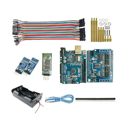 Remote Control Self-track R3 Starter Kit for Robot Car Chassis Arduino