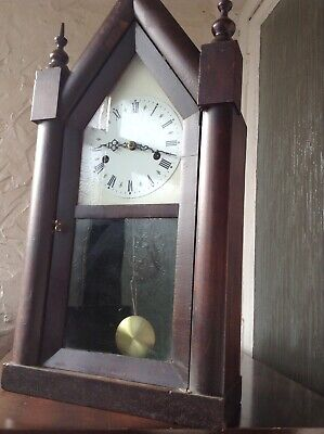 Antique american mantle clock