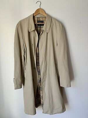 on sale 67e88 0ce33 ORIGINAL BURBERRY VINTAGE Trenchcoat, Herren, Klassisch, L 52, Beige