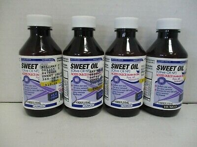 4 Humco Sweet Oil Softens Ear Wax Exp 4/19+ Mn 162