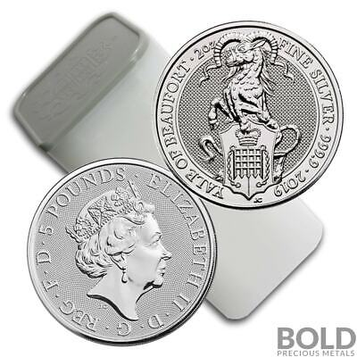2019 Silver Britain Queen's Beasts (The Yale) - 2 oz (10 Coins)