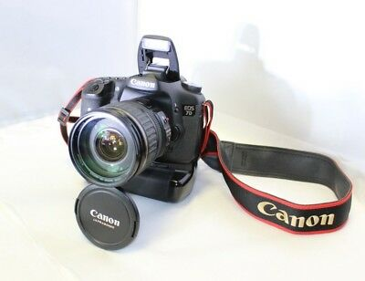 Canon EOS 7D 18.0MP 28-135mm Ultrasonic, Battery Grip, Works Beautifully, Nice!