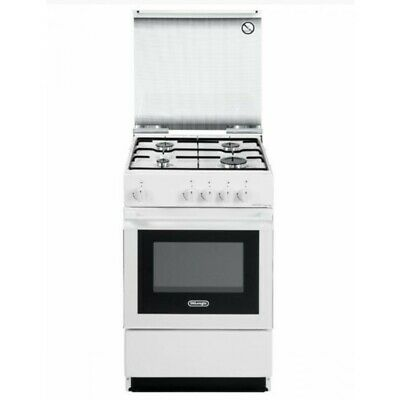 De Longhi SGW 554 N cucina OUTLET 50x50 4 fuochi a gas forno a gas colore bianco