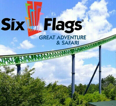 Six Flags Great Adventure Nj Tickets A Promo Tool  Parking Deal Savings