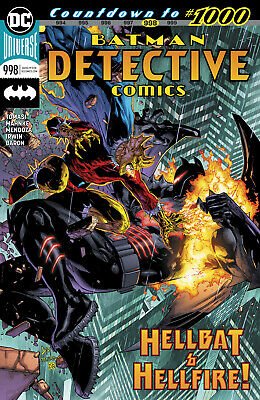Detective Comics #998 Dc Universe - 1St Print - Bagged And Boarded. Free Uk P+P!