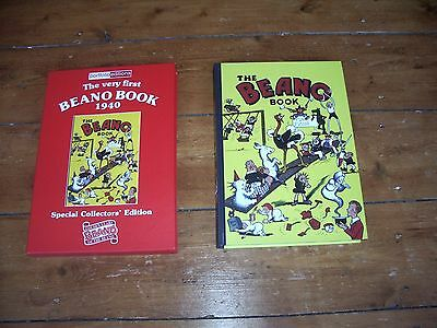 Beano Book Number 1 1940 Facsimile Annual Limited Edition With Slipcase