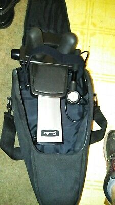 SAUNDERS CERVICAL HOME DELUXE NECK TRACTION DEVICE MACHINE w/CARRYING CASE Back