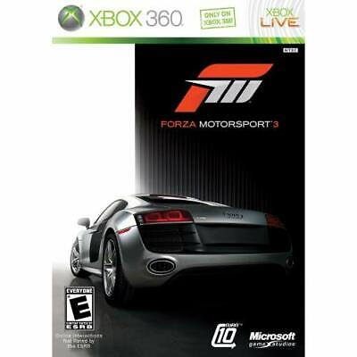 Forza Motorsport 3 For Xbox 360 Racing Very Good
