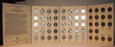 "1999 - 2009 ""50 STATE QUARTER SET"" -  plus 6 DC & US TERRITORIES Coins"