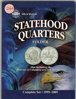 "1999 - 2009 ""50 STATE QUARTER SET"" -  WITH 6 DC & US TERRITORIES Coins"