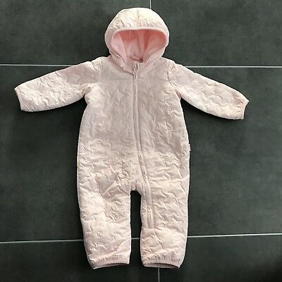 Gap Girls Pink All-in-One Snowsuit - 0-3 Months - Immaculate Condition