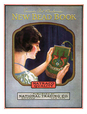 Barbour's Beaded Flapper Purse & Bags Book c.1924 Crochet Beading Patterns