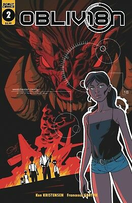 Obliv18N #2 - 1St Print - (Scout Comics) Bagged And Boarded. Free Uk P+P!