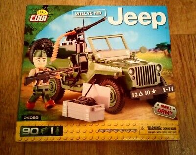 WILLYS MB JEEP CONSTRUCTION SET