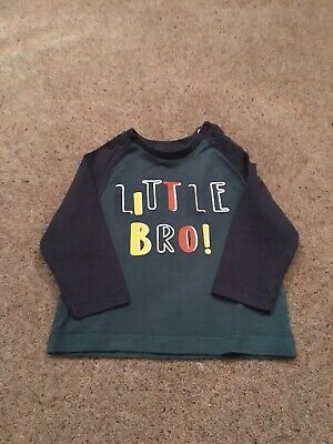 Nutmeg Boys Top Size 6-9months Used