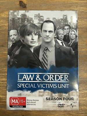 Law And Order - Special Victims Unit SVU Season 4 (DVD, 2007, 6-Disc Set)