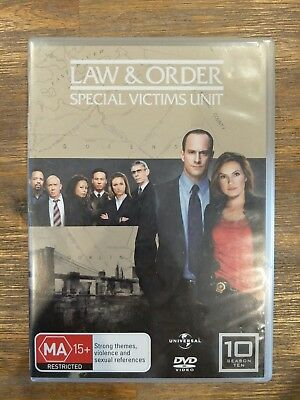 Law And Order Special Victims Unit SVU Complete Season 10 DVD