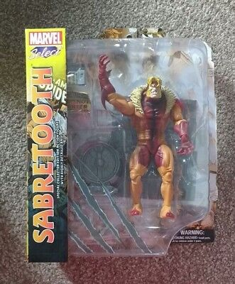 Diamond Select Sabretooth Marvel Select X-Men Villain Action Figure Model Toy
