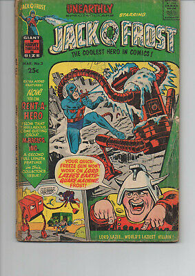 Unearthly Spectaculars 3 Very Good 1967 Harvey Silver Age Comic
