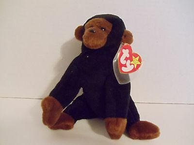 Retired 1996 Ty Beanie Baby Babies Congo the Ape MWT