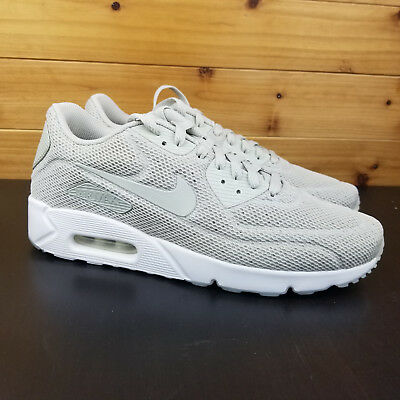 reputable site e44a0 5ca3b Nike Air Max 90 Ultra 2.0 BR Men s Sz 10.5 Running Shoes Grey White 898010-
