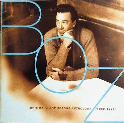 BOZ SCAGGS: My Time Anthology (1969-1997) 2CD Best of/Greatest Hits Set -VGC-