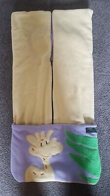 Pram Sleeping Bag / Foot Muff - really thick and warm for winter great cond