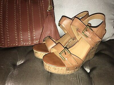 43e2f24b21 WOMEN'S ERIE WOOD Wedge Sandals Mossimo Supply Co Size 5.5M - $10.00 ...