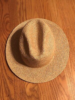 Very Nice Vintage Straw Cowboy Hat   Men s Size M ~ Union Made in USA ! a3fffebcc6a6