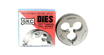 "5/16"" x 24 TPI  N.F 1"" OD  Carbon Steel Threading Die Nut, SKC Dies"