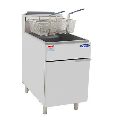 Commercial Gas Deep Fryer 5 Tube Gas 4 YEAR WARRANTY ATFS-75 Food Truck,Catering