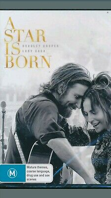 A Star Is Born : NEW DVD : 2019 :