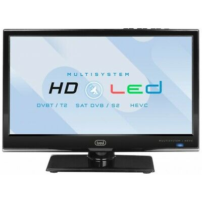 "Trevi Lcd Ltv 1601 Sat 16"" Led Nero Tv 16"" Led Con Dvbt-T2/S2  Hevc"