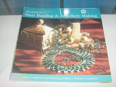 Get Creative Start Beading & Jewellery Making Learn To Make Your Own Stunning Je