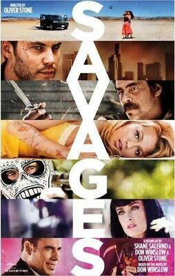 SAVAGES great original 27x40 D/S movie poster