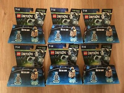 Lego Dimensions Dr Who 71238 Cyberman Fun pack x6 Brand New Sealed inc a Dalek