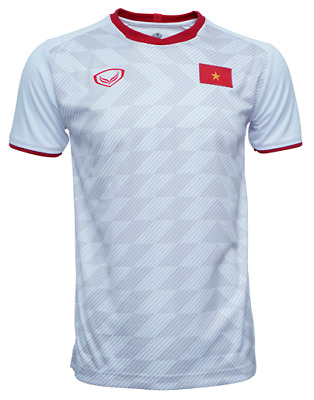 e6d12b997b0 100% Authentic 2019 Vietnam National Football Soccer Team Jersey Shirt White