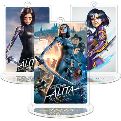 Movie Alita Battle Angel Acrylic Model Stand Figure Toy Desk Decor Collection