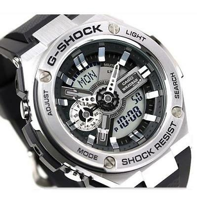 Casio G-Shock G-Steel, Gst410-1A Gst-410-1A, Magnetic Resistant, Resin Band
