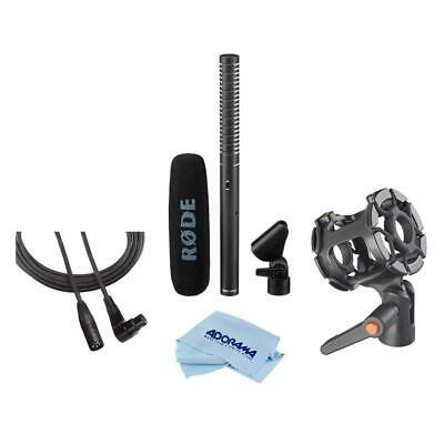 RODE NTG-2 Dual Powered Directional Shotgun Microphone With Accessory Bundle