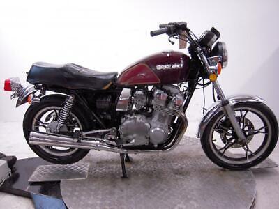 1982 Suzuki GS750TZ Unregistered US Import Barn Find Classic Restoration Project