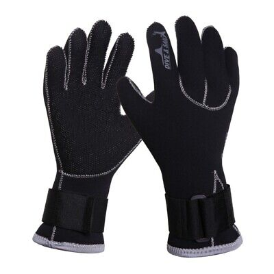 Neoprene Wetsuit Gloves Kayak Diving Dive Swimming Surfing Kit Adult Size S-XL