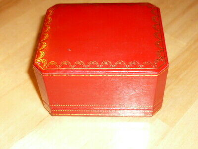 Original Alte CARTIER Uhren Box / Etui